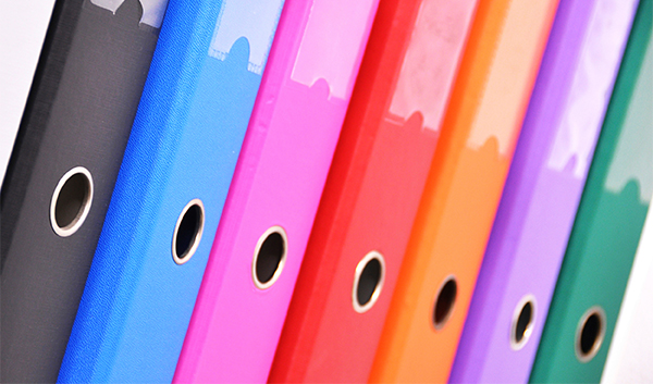image of binders