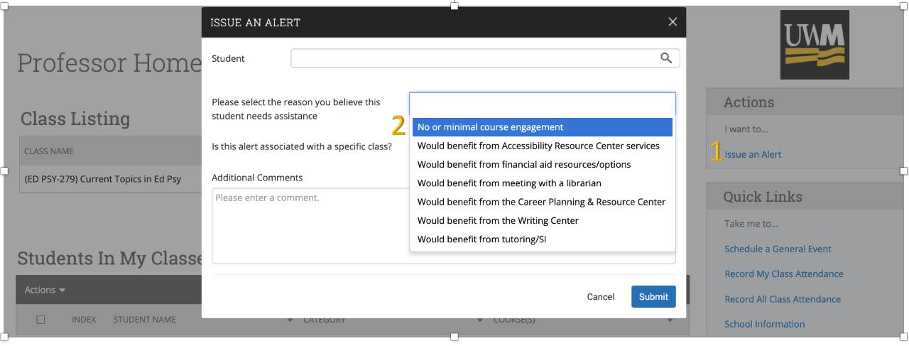 Screenshot of Navigate software