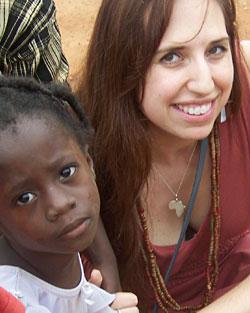 Jessica and child