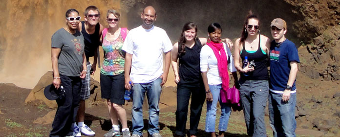 Africology students in Ethiopia