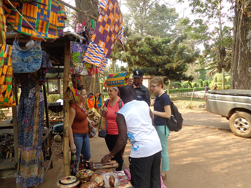 Students shopping Ghana