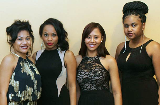 At the Africology Ball