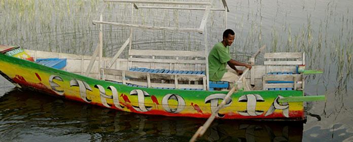 Ethiopian boat