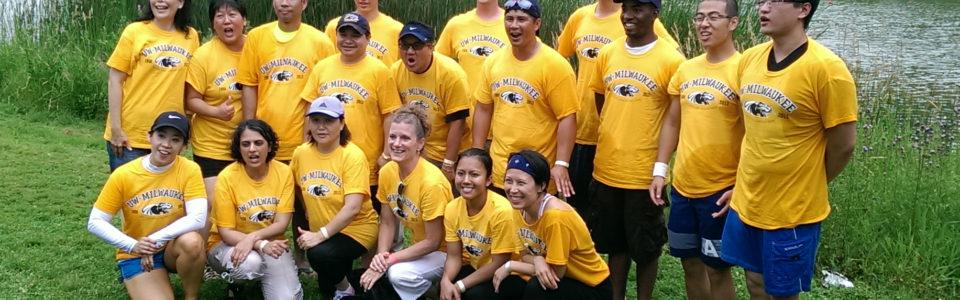 Dragon boat team photo
