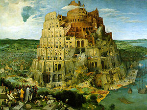 Tower-of-Babel painting