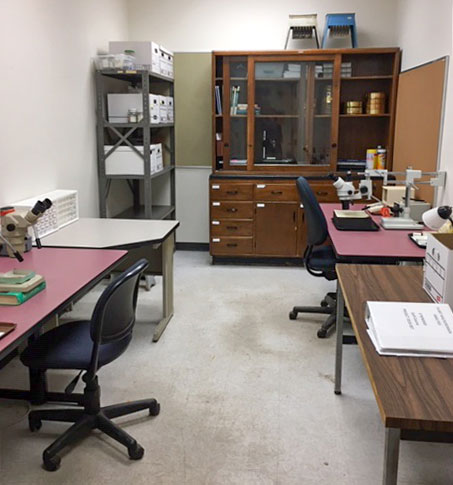 Paleoethnobotanical Laboratory with the Archaeological Research Laboratory