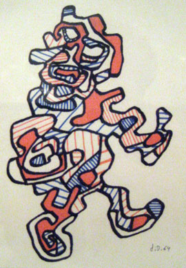Jean Dubuffet, Personnage XXVI, 1964