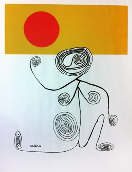 Alexander Calder, Untitled (wire figure), 1944