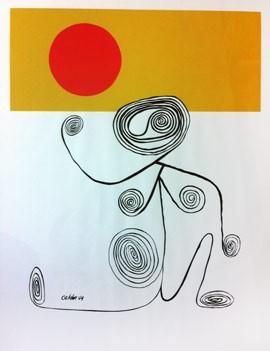 Alexander Calder, Untitled (wire figure), 1944