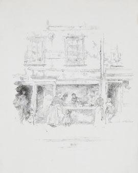 James Whistler, Fishshop