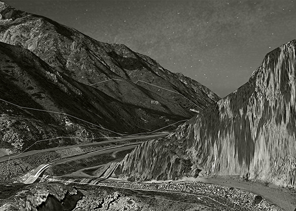 Weber Canyon, 2015   Ambrotype   28x20 inches