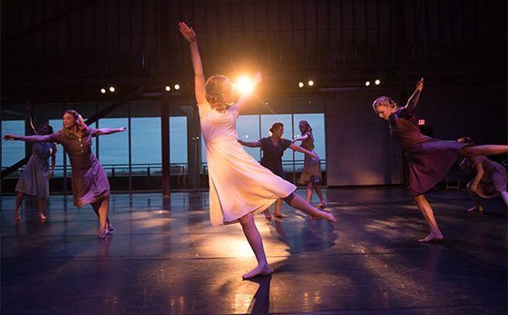 UWM Contemporary Performance & Choreography Springdances 2016