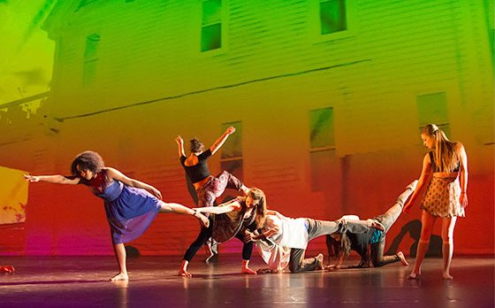 UWM Contemporary Performance & Choreography Winterdances 2015