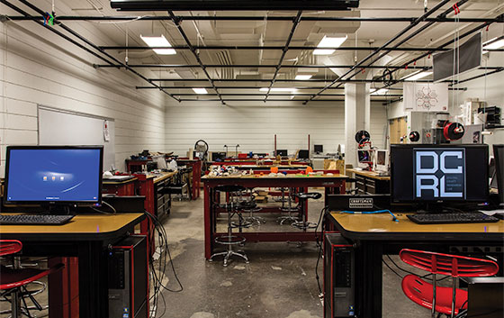 UWM Digital Fabrication & Design Lab