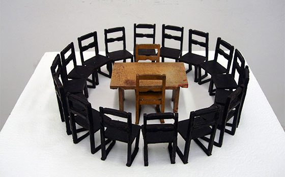 UWM Sculpture Chairs