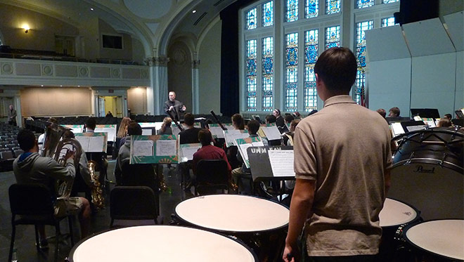 uwm middle school honors band festival