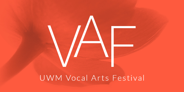 UWM vocal arts festival