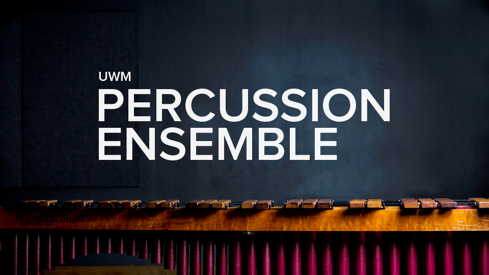 UWM percussion ensemble