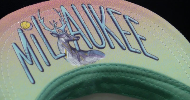 Bucks give away '90's night' caps