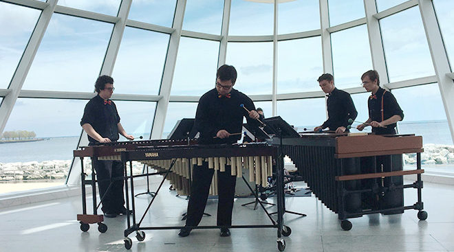 UWM Percussion Ensembles
