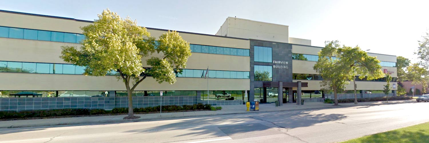 Front of UW-Milwaukee Audiology Group building