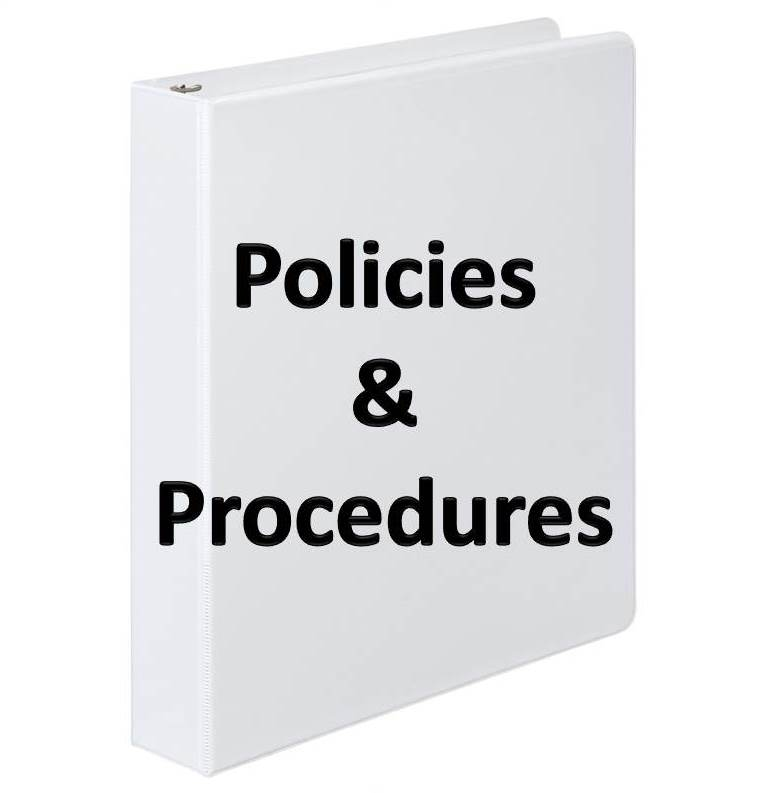 Policies and Procedures Button