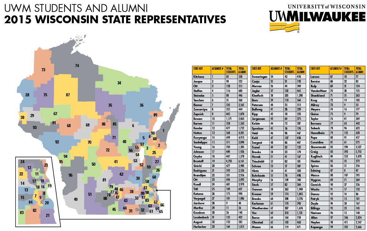 Legislative Map Wisconsin State Assembly State Budget - Wi state map