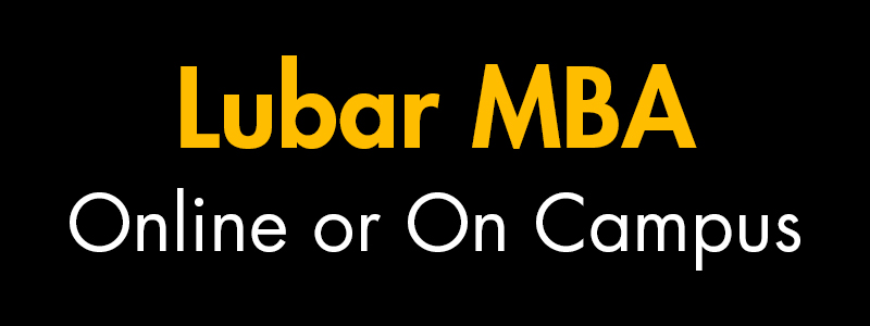 Lubar MBA Online or On Campus