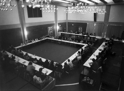 View of one of the sessions held in the Wisconsin Room