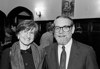 photo of John McPhee and Carol Tennessen