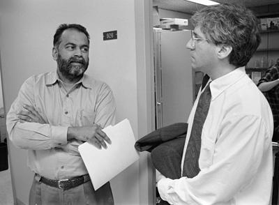 photo of Arjun Appadurai and Paul Brodwin