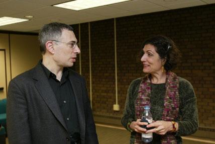 photo of Daniel J. Sherman and Alma Guillermoprieto