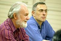 David Harvey and Daniel Sherman photo