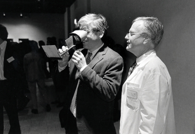 photo of Paul Brodwin and Dr. Eric Avery