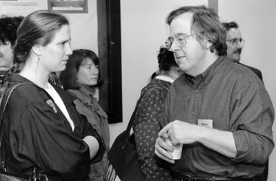 photo of Miriam Wallace and Roger Simon