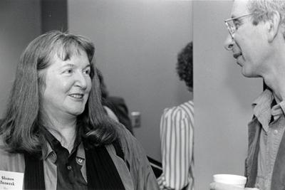 photo of Sharon Traweek and Dick Blau