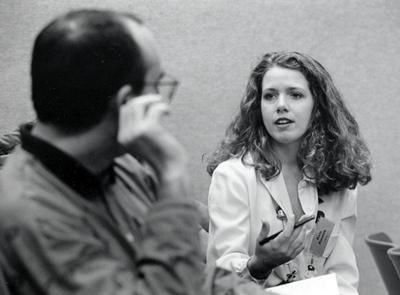 photo of Carmen Cavallo and Kate Kramer