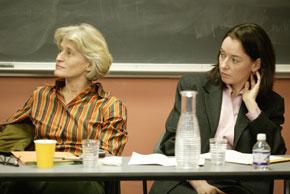 Elizabeth Povinelli (Chicago) and historian Patricia O'Brien (Georgetown)