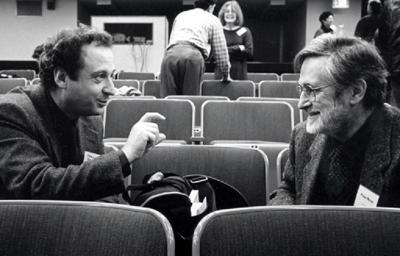 photo of Marcus Bullock and Pedro Meyer