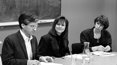 photo of Paul Brodwin, Kristie Hamilton, and Sylvia Schafer