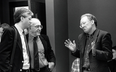 Paul Brodwin, Herb Blau, and Paul Rabinow