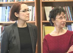 photo of Alejandra Osorio and Paula Sanders