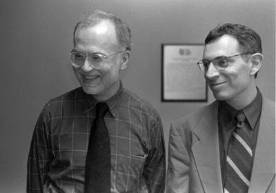 photo of Jeffrey Merrick and Daniel J. Sherman