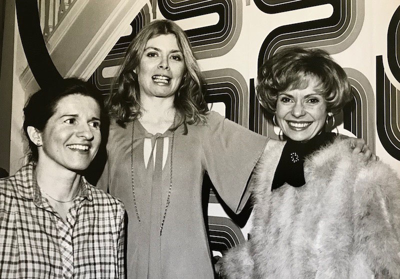 Photo of Carol Tennessen, Kathleen Woodward, and Patricia Mellencamp
