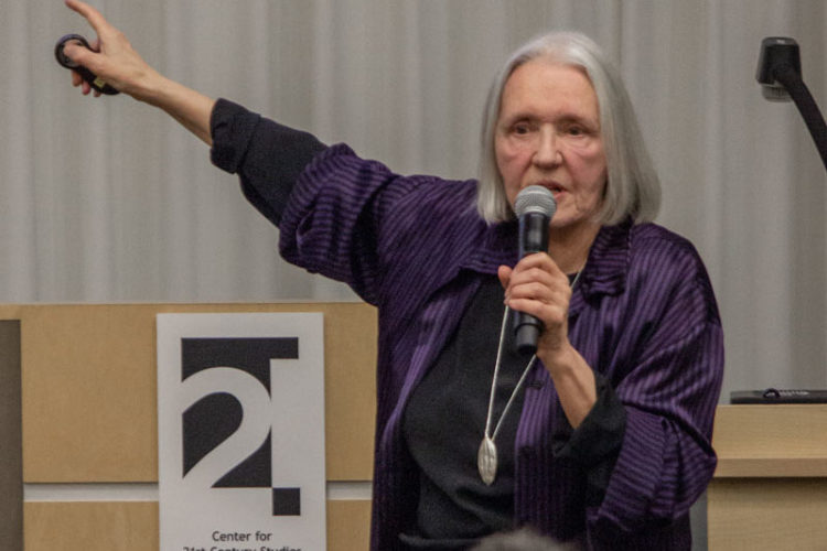 Saskia Sassen at the C21 Insecurity Conference