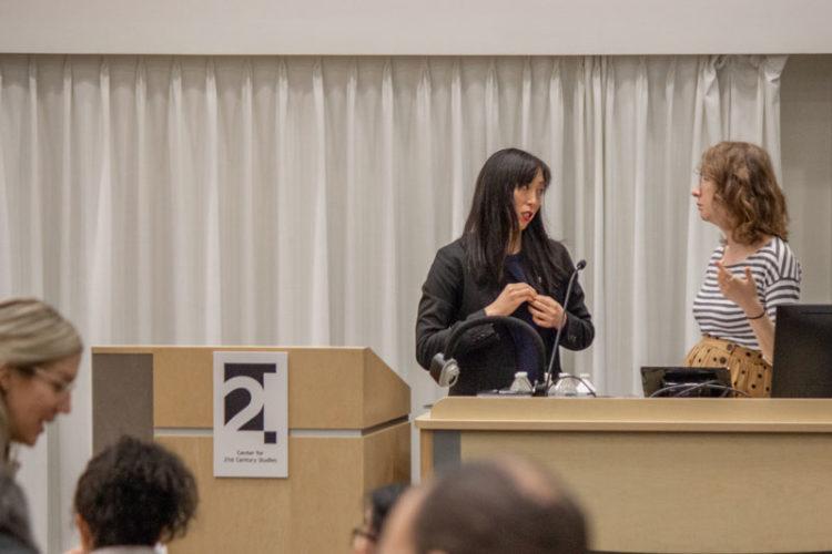 Naomi Paik and C21 Deputy Director Maureen Ryan