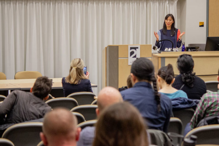 Naomi Paik at the C21 Insecurity Conference