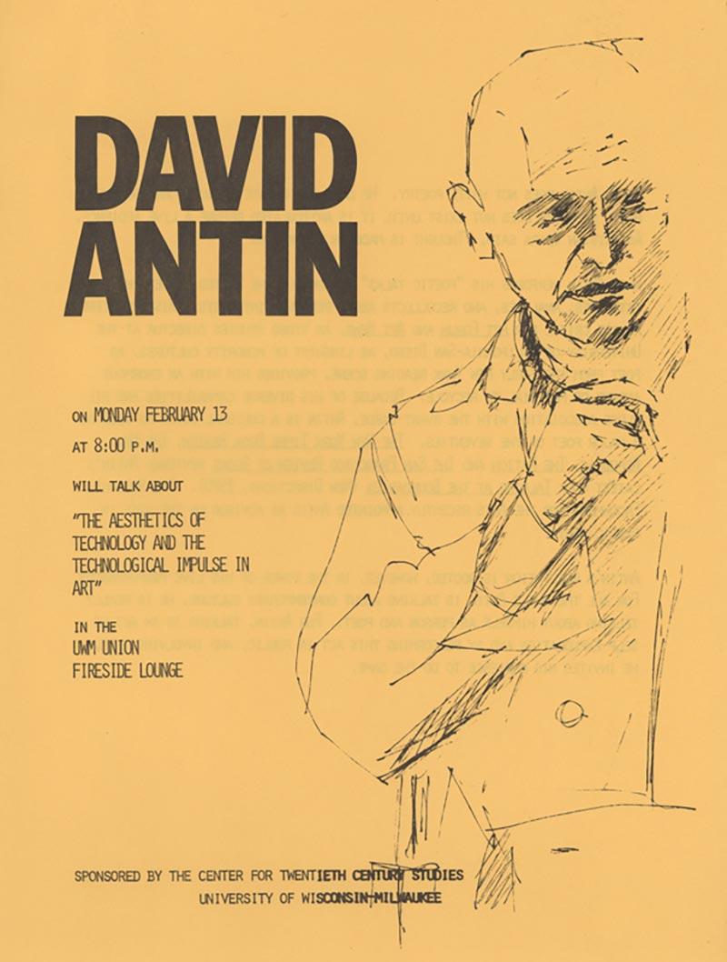 David Antin Lecture