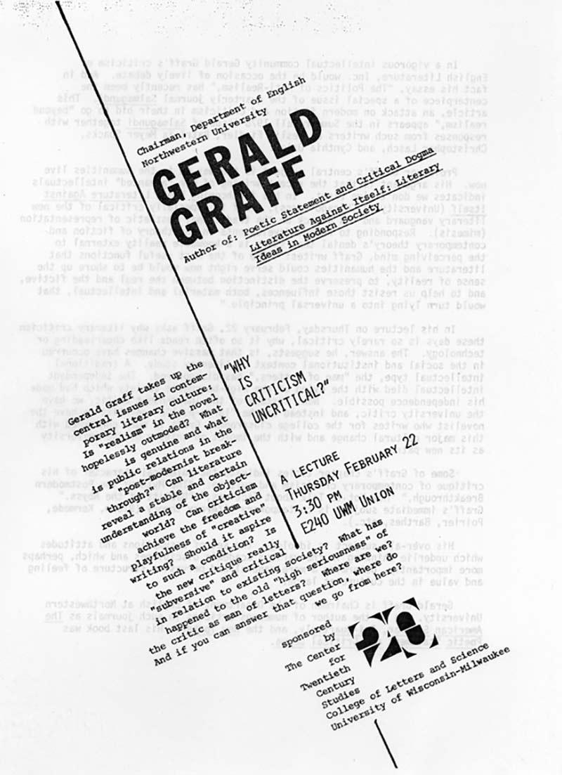Gerald Graff