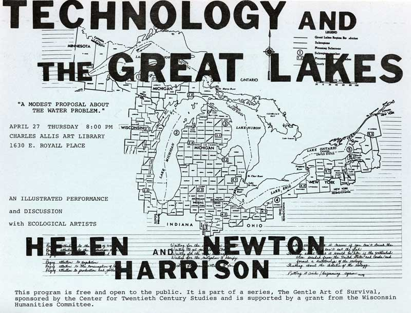 Helen and Newton Harrison